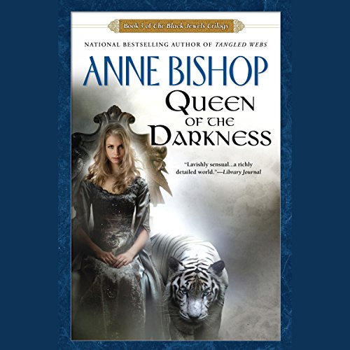 Queen of the Darkness audiobook cover art