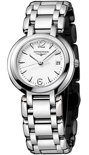 Longines Reloj Analógico para Mujer de Cuarzo con Correa en Acero Inoxidable L81124166