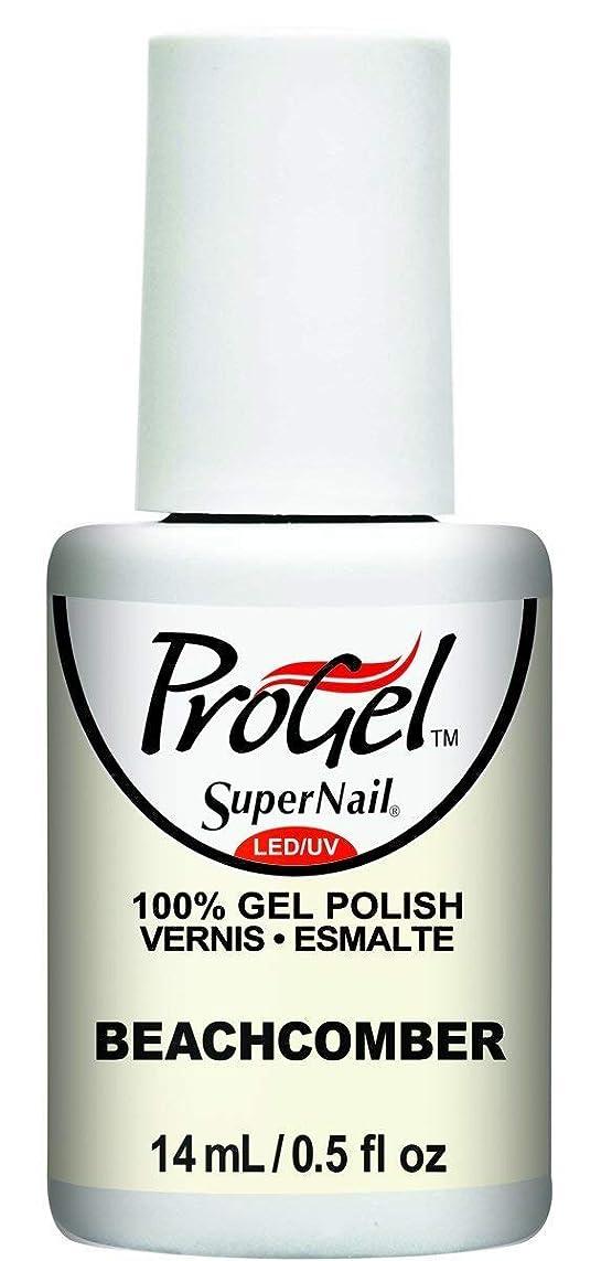 学期吐く電気技師SuperNail ProGel Gel Polish - Beachcomber - 0.5oz / 14ml