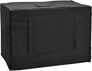 Jainsons Pet Products Dog Crate Cage Kennel Cover, Black (30 Inch)