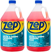 Zep House and Siding Pressure Wash Cleaner Concentrate 128 ounce ZUVWS128 (Pack of 2) Construction Grade