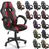 TRESKO Silla de oficina Racing silla de escritorio ordenador giratoria...