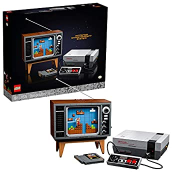 LEGO Nintendo Entertainment System 71374 Building Kit  Creative Set for Adults  Build Your Own NES and TV New 2021  2,646 Pieces