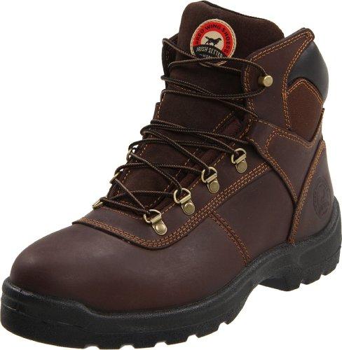 "Irish Setter Men's Ely 6"" 83607 Work Boot,Brown,8.5 D US"