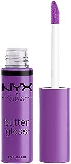 NYX Professional Makeup Butter Gloss, Sugar Plum, 0.27 Fluid Ounce