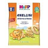 Hipp Snack Anellini Di Farro E Avena, 30g