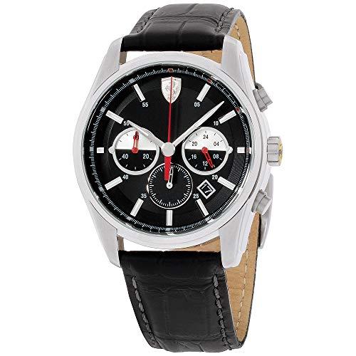 Ferrari Men's 830200 GTB - C Analog Display Quartz Black Watch