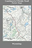 Continental Divide Trail Pocket Maps - Wyoming