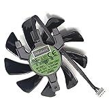 85mm T129125SU Scheda Grafica Ventola di Raffreddamento Per Sapphire Radeon RX570 ITX graphics Card Cooler
