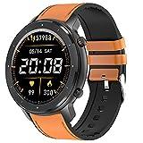 QFSLR Hombre Smartwatch,Reloj Inteligente con Pulsómetro, Llamada Bluetooth Monitor De...