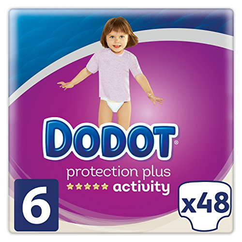 Dodot Protection Plus Activity Pañales Talla 6 - 48 Unidades