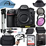 Nikon D850 DSLR Camera Body 45.7MP CMOS Sensor with SanDisk 32GB Memory Card, Case, Tripod, Filters and A-Cell Accessory Bundle (Black)