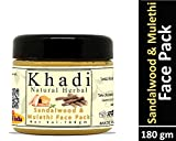 Khadi Natural Herbal Sandalwood and Mulethi Face Mask