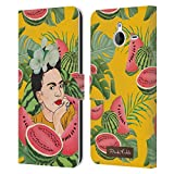 Official Frida Kahlo Watermelon Portrait 3 Leather Book