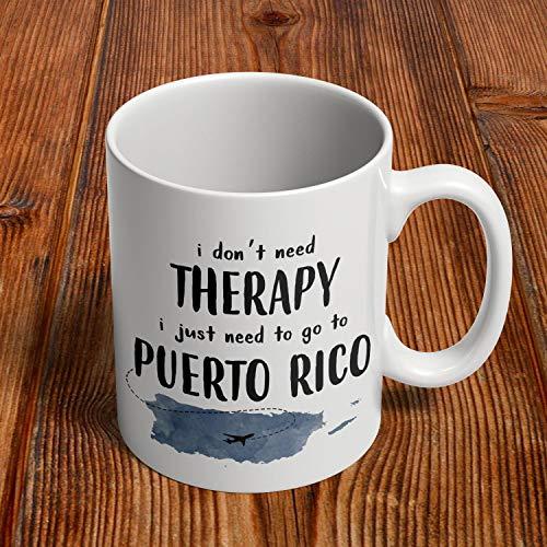 Puerto Rico Gifts, Puerto Rican Mug, Puerto Rico Coffee Cup