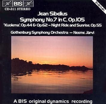 Sibelius: Symphony No. 7 / Kuolema: Incidental Music / Night-Ride and Sunrise