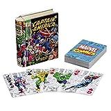 Baraja de póker Capitán América. Marvel Comics