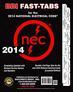 2014 National Electrical Code NEC Looseleaf BBI-FAST-TABS