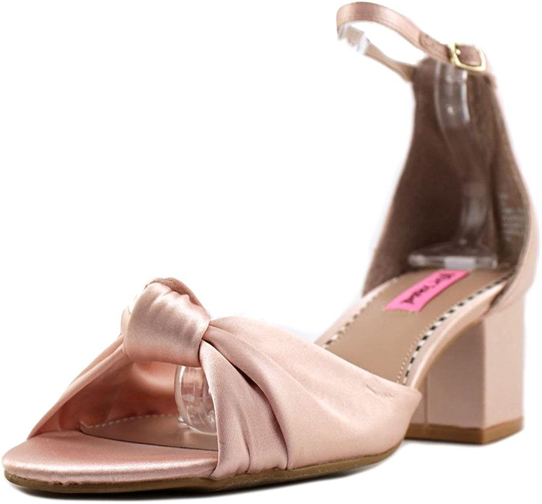 Betsey Johnson Johnson Johnson Ive Ankle Strap Sandaler, blåsh, 8 USA  kundens första rykte först