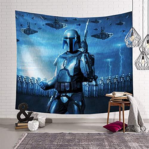 Tapiz para pared de Star Wars Jango Fett de 180 x 230 cm