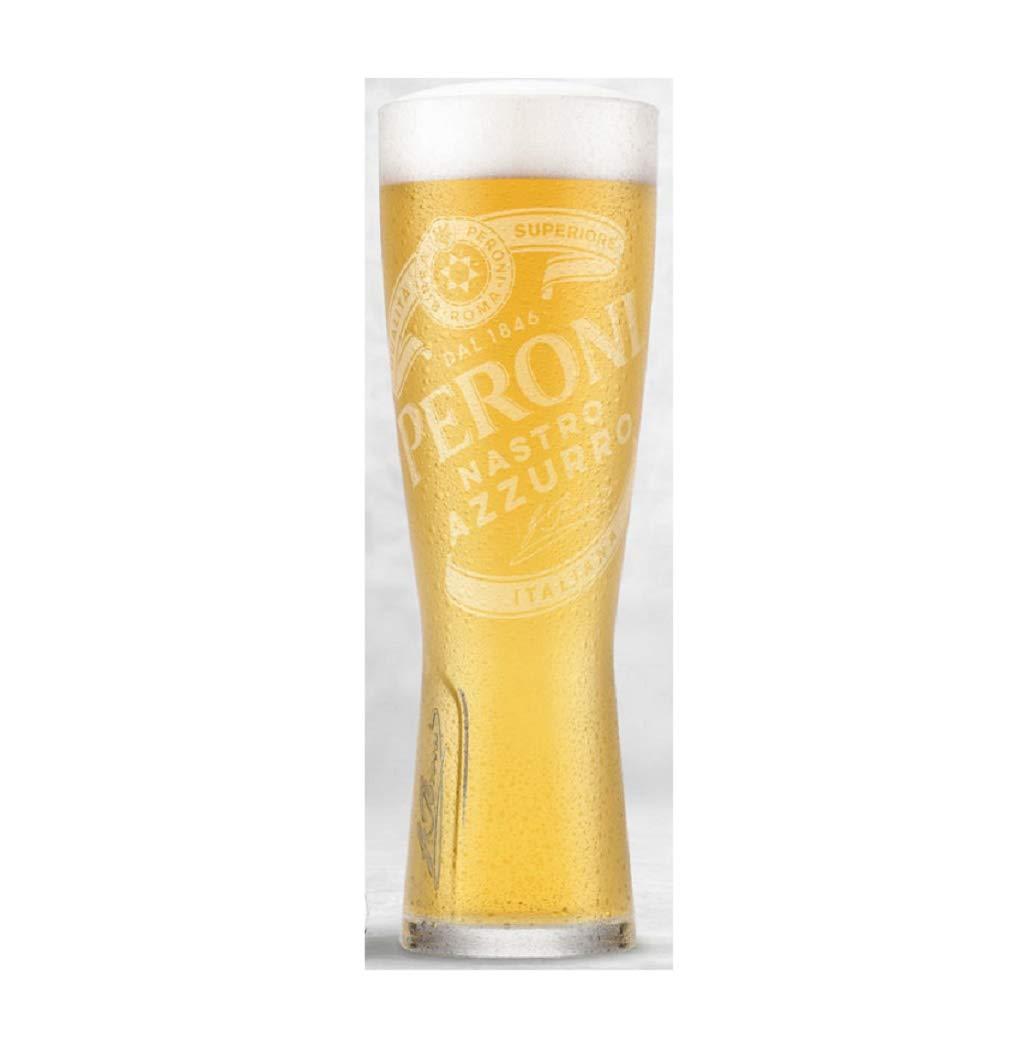 Peroni - Vasos de pinta (568 ml, 2 unidades): Amazon.es: Hogar