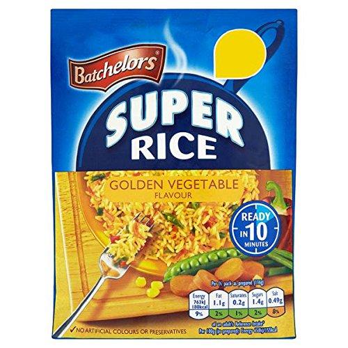 Batchelors Super-Reis Goldenen Gemüse Flavour - 10 x 100g