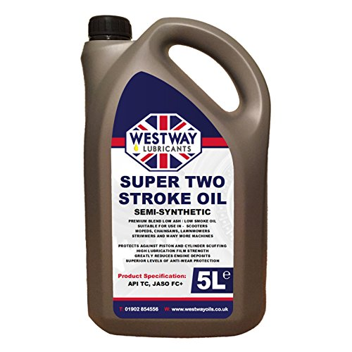 2 Stroke Oil Semi-Synthetic Low Smoke 5L 5 Litres