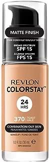 Revlon Colorstay SPF 15 Makeup Foundation for Combination/Oily Skin, Toast, 1 Fl Oz