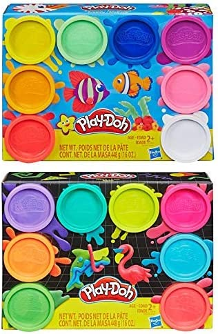 PD Play Doh Jacksonville Mall 8 Pack Max 68% OFF Bundle: Compound + Rainbow o of