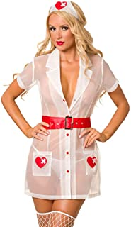 Velvet Kitten Naughty Nurse Heartstopper Sexy Adult Costume #3262