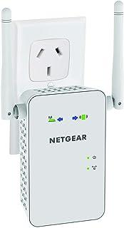NETGEAR Essentials Edition EX6100 AC750 Dual Band WiFi Internet Range Extender for Home, Office, White, AC750, EX6100-100AUS
