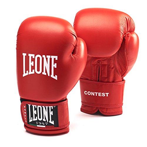 LEONE 1947 (LEORC) Contest, Boxhandschuhe Boxhandschuhe Unisex–Erwachsene, Rot, 10oz