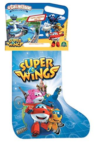 Giochi Preziosi Calzettone 2018 Super Wings, Calza con Sorpresa, CAU01000