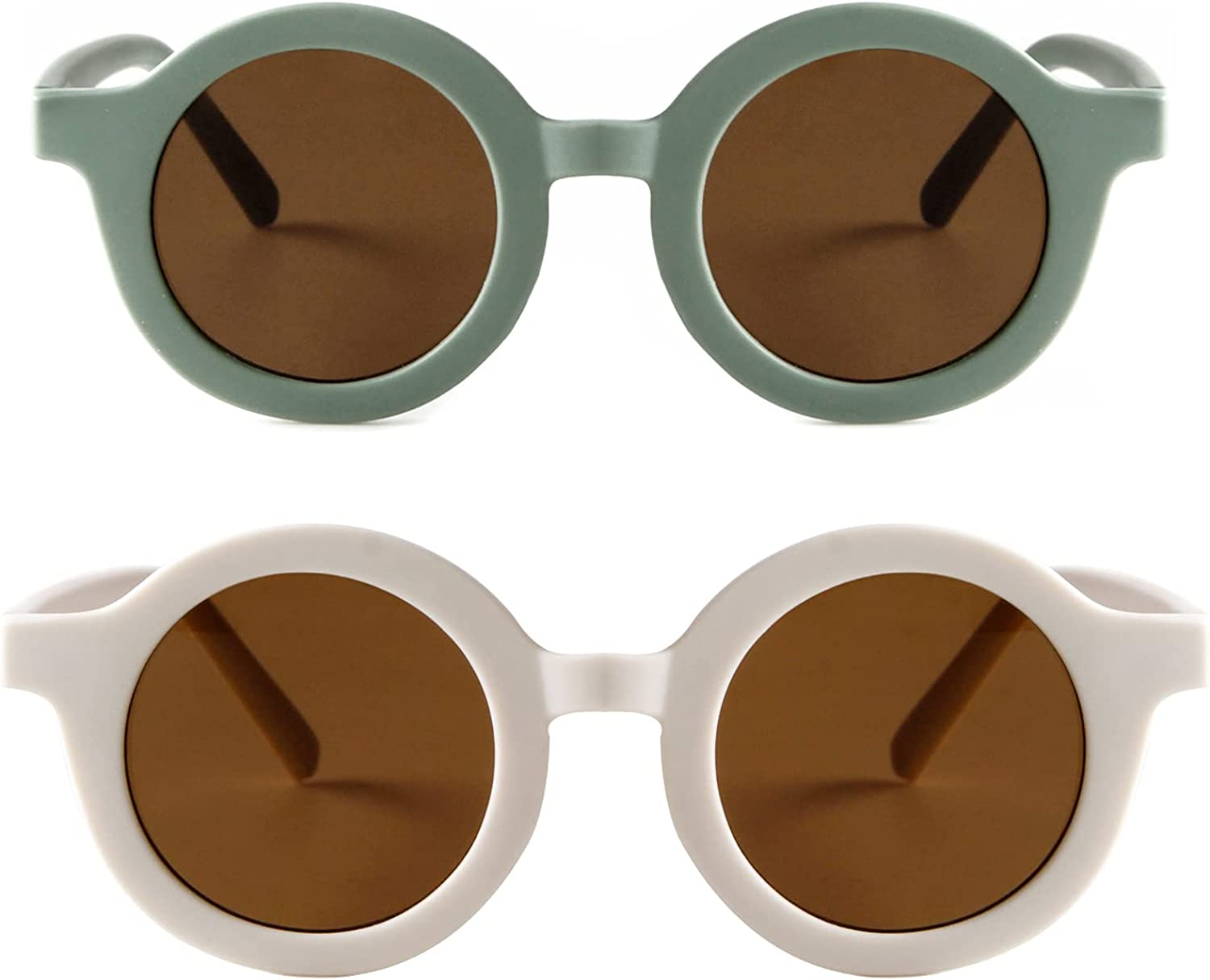 Kids Very popular Sunglasses Cute Round Glasses Shades Girls Max 69% OFF for Little Boys