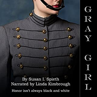 Gray Girl audiobook cover art