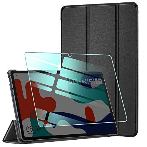 AROYI Funda y Protector de Pantalla Compatible con Huawei matepad 10.4