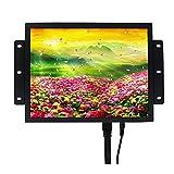 VSDISPLAY Monitor LCD TFT de 12,1', Altavoz Integrado, Carcasa metálica, 800 x 600, 100% sRGB, Puerto HD-MI DVI VGA, Brillo de 700 nit, para proyectos de visualización Industrial de Bricolaje/RPI