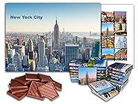 面白いニューヨークシティの食べ物の贈り物⌘「NEW YORK CITY」⌘素敵なNYCチョコレートセット! (BIG BOX Empire)
