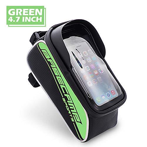 JSX waterdichte fietstas, fietsframepakket touchscreen mobiele telefoon opbergtas, geschikt voor 4,7 inch