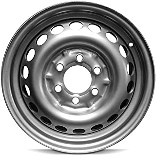 Road Ready Car Wheel For 2014-2019 Mercedes Sprinter Van 16 Inch 6 Lug Black Steel Rim Fits R16 Tire - Exact OEM Replacement - Full-Size Spare