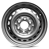 Road Ready Car Wheel for 2014-2020 Mercedes Sprinter 2500 Van 16 inch 6 Lug Silver Steel Rim Fits R16 Tire - Exact OEM Replacement - Full-Size Spare