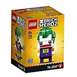 LEGO Brickheadz - The Joker, Figura de Juguete del Villano Enemigo de Batman (41588)