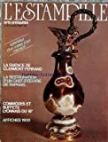 ESTAMPILLE (L') [No 117] du 01/01/1980 - SPLENDEUR D'UN METIER D'ART MENACE - LA FAIENCE DE CLERMONT-FERRAND - LA RESTAURATION D'UN CHEF-D'OEUVRE DE RAPHAEL - COMMODES ET BUFFETS LYONNAIS DU 18EME - AFFICHES 1900.