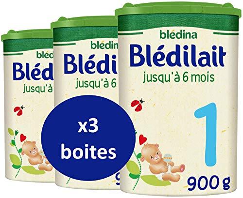 Blédina Blédilait 1er âge - Lait pour nourrissons en Poudre, dès la Naissance et jusqu'aux 6...