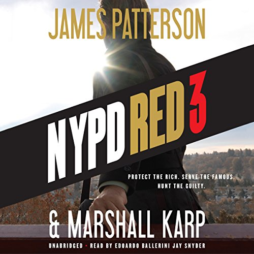NYPD Red 3 audiobook cover art