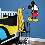 RoomMates RMK3259GM Mickey Mouse Peel And Stick Giant Wall Decals,Multicolor
