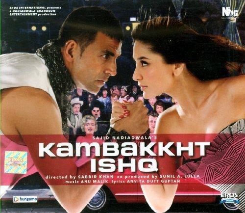 Kambakkht Ishq (Cd)(Hindi Film Soundtrack/Bollywood/Indian Music/Akshay Kumar) by Anu Malik, RDB, Neeraj Shridhar, Alisha Chinai, K K, Sunidhi Chauhan, Shaan, Shr (2009-06-12)