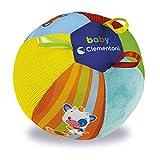 Clementoni-17464 - Pelota Electrónica Musical - juguetes bebé con sonido a partir de 3 meses