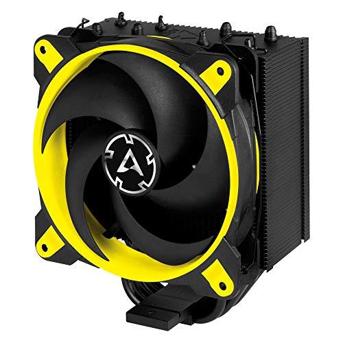 ARCTIC Freezer 34 eSports - Tower CPU Luftkühler mit BioniX P-Serie Gehäuselüfter, 120 mm PWM Prozessorlüfter für Intel und AMD Sockel - Gelb