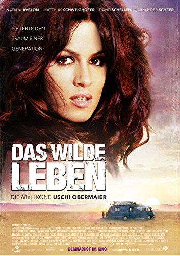 Das Wilde Leben - die 68er Ikone Uschi Obermaier (2007) | original Filmplakat, Poster [Din A1, 59 x 84 cm]